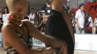 Miha Vodicar e Nadiya Bychkova - Samba Rimini 28/06/09