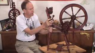 Kromski Spinning Wheel Maintenance Part 1