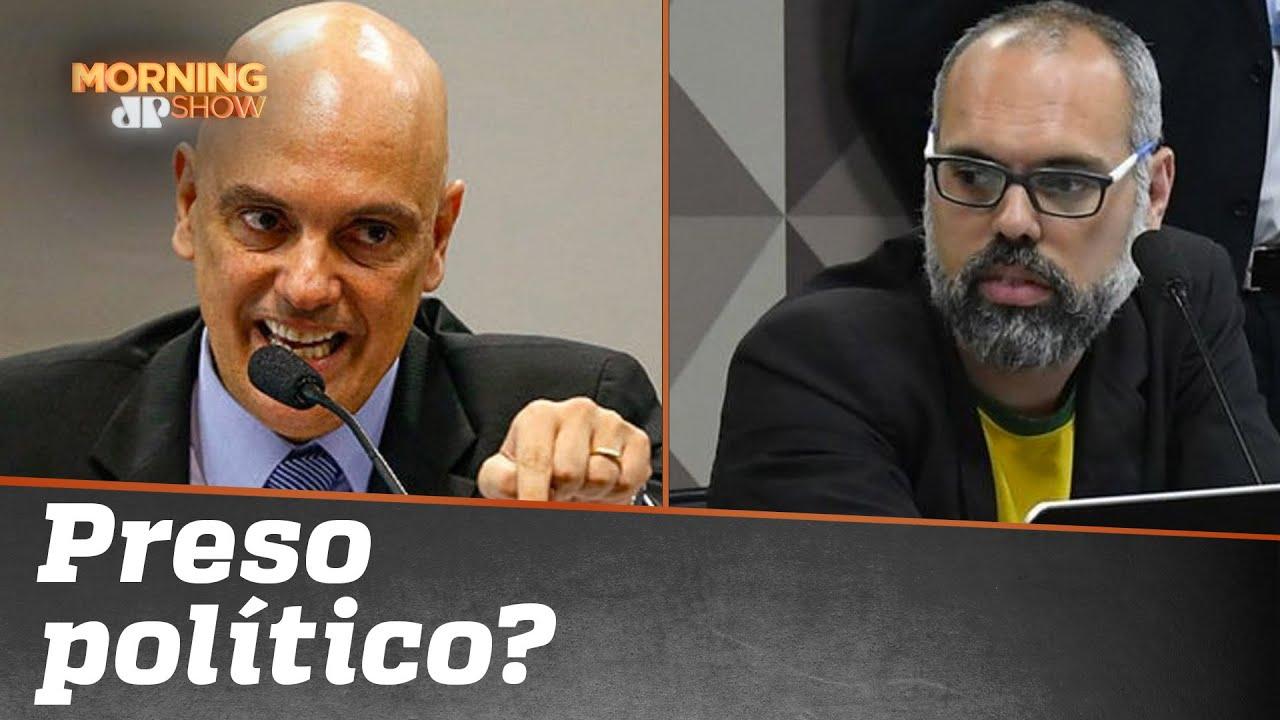 A REPERCUSSÃO do pedido de prisão do Allan dos Santos