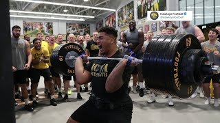 Tristan Wirfs on His Iowa Weightlifting Record & NFL Draft Process | The Rich Eisen Show | 4/3/20