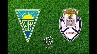 Video Gol Pertandingan Estoril Praia vs Feirense