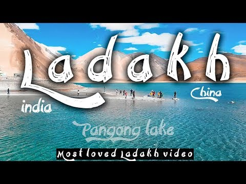 Epic Drone views at Pangong lake| Leh chal ladakh mein Ep4 Nubra to Pangong | Traveling Mondays