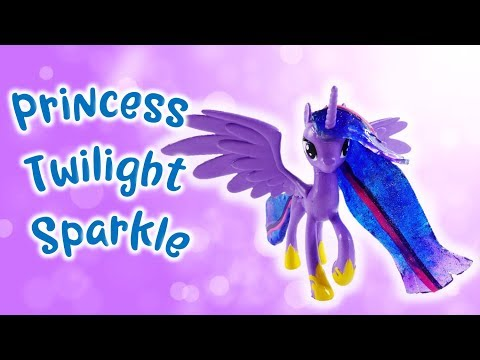 Season 9 Adult Princess Twilight Sparkle Custom Pony with Resin