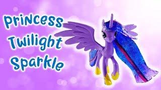 Season 9 Adult Princess Twilight Sparkle Custom Pony with Resin