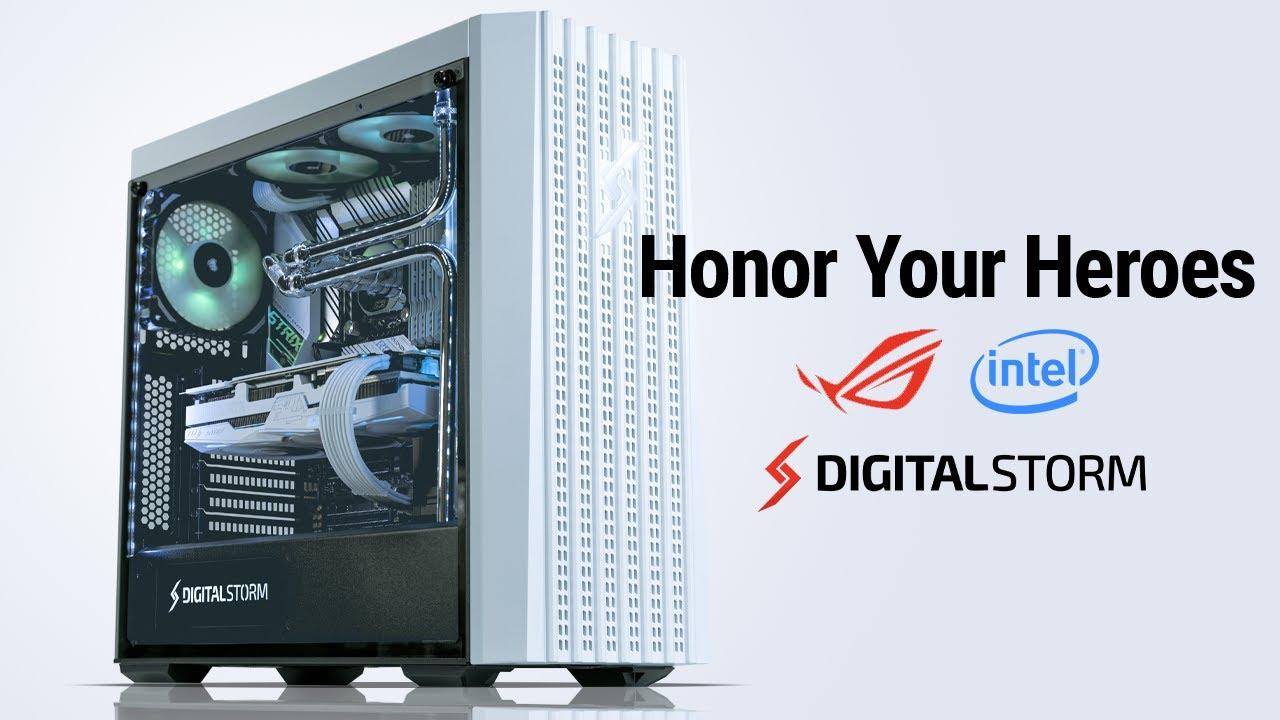 Honoring Heroes the Digital Storm Way #HonorYourHeroes