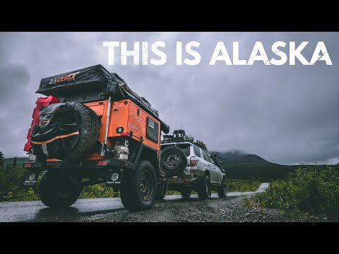 S1:E37 Camping by an Alaskan river; nothing better - Lifestyle Overland
