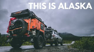 S1:E37 Camping by aฑ Alaskan river; nothing better - Lifestyle Overland