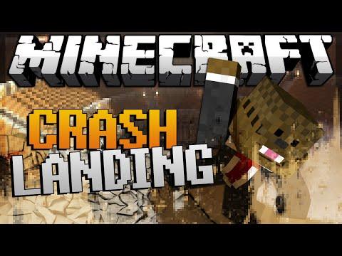Minecraft Crash Landing ModPack Lets Play