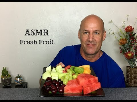 ASMR Eating Fresh Fruit~Soft Spoken