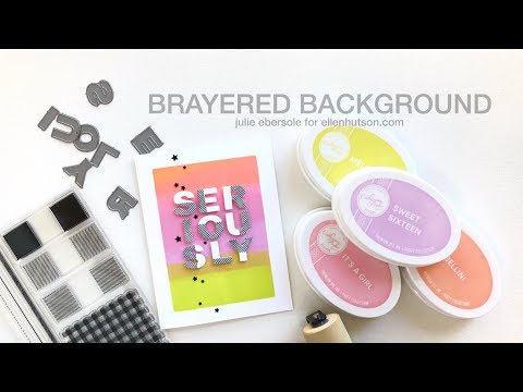 Brayered Background - Hello, Monday 05/14/2018