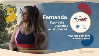 Dia Mundial do Rim 2021   Vivendo bem com a doença renal   Fernanda Prioli