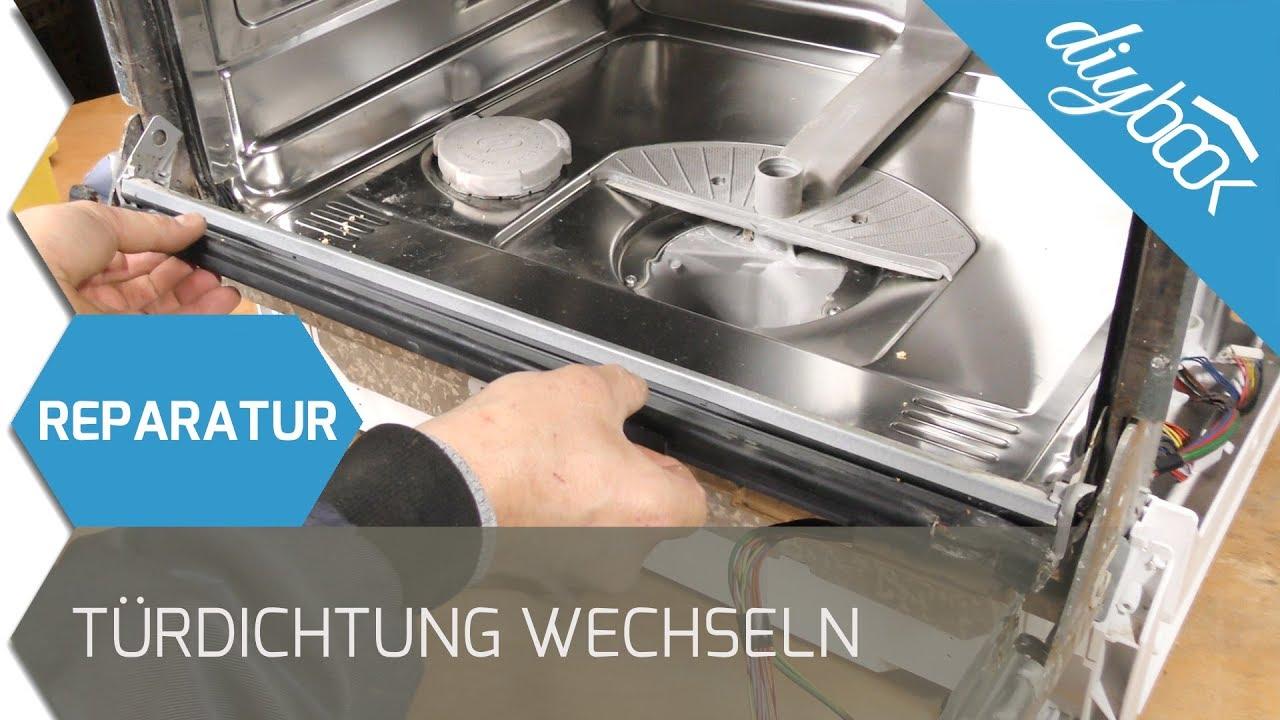 Siemens Geschirrspuler Turdichtung Wechseln Youtube