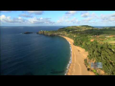 Kauapea Beach and Kilauea Lighthouse