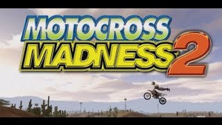 Retro Gaming | Motocross Madness 2 Jumping over the train HD
