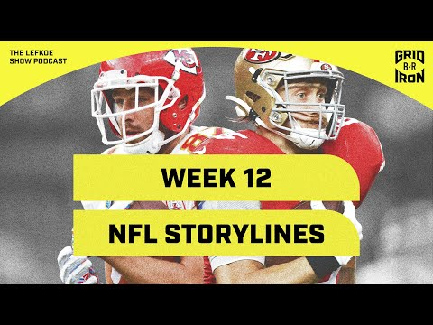Best Super Bowl Matchups, Greatest RBs Ever, And Week 12 NFL Storylines | The Lefkoe Show