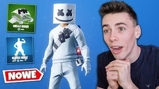 'NOWY' SKIN MARSHMELLO w FORTNITE Battle Royale!