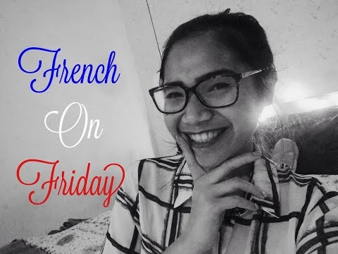FRENCH ON FRIDAY #1 - Introduction et Bonne Année 2016