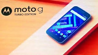 NOVO MOTO G? MOTO G TURBO EDITION!