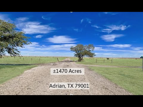 1470 Acres-Adrian, TX 79001