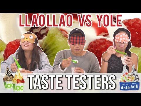 LLAOLLAO VS. YOLÉ | Taste Testers | EP 60