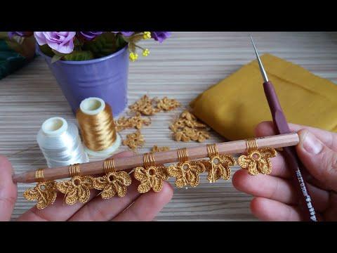 Sipariş Rekorları Kıran Muhteşem Tığ İşi Motifim 😀 Çok Güzel Oldu👍Turkish Handmade/Knitting