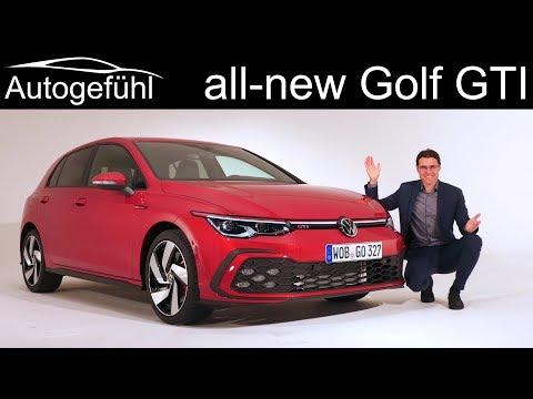 All-new VW Golf 8 GTI Vs GTE Vs GTD REVIEW Comparison Exterior Interior Mk8 - Autogefühl