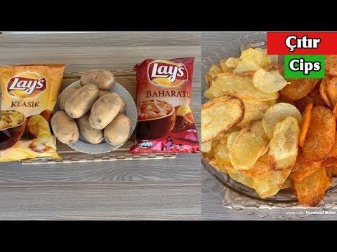 Download EVDE LAYS NASIL YAPILIR   Chips Recipe