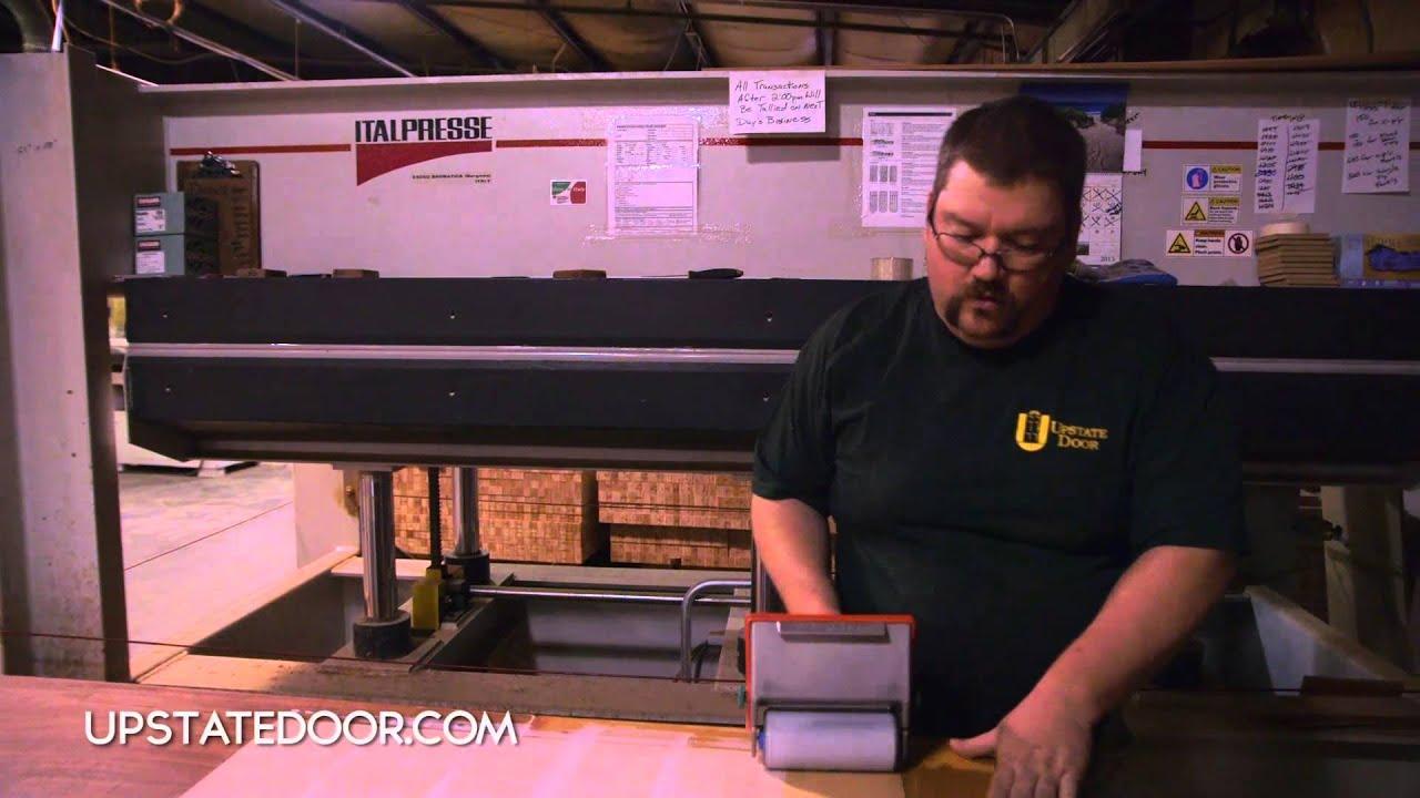 UPSTATE DOOR Custom hardwood doors with a veneer  sc 1 st  YouTube & UPSTATE DOOR: Custom hardwood doors with a veneer - YouTube