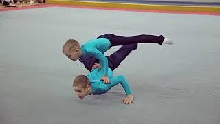 Артем Липкан: чемпионат Киева по акробатике, 3-5 марта 2016 года, Спартак