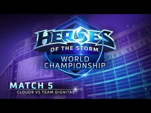 Cloud9 vs Team Dignitas - Match 5 - Heroes of the Storm World Championship