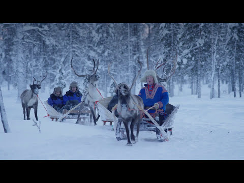 Luxury Travel presents - Kakslauttanen Arctic Resort in the Wintertime