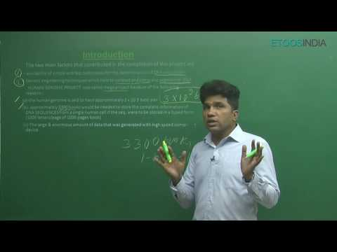 AIPMT I Biology I Molecular Basis of Inheritance V-2 I M. Asad Qureshi(MAQ)Sir from ETOOSINDIA.COM thumbnail
