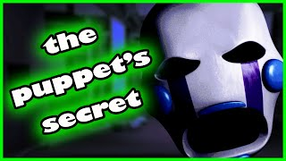 THE PUPPET'S SECRET... - Five Nights at Candy's 2 Simulator (Five Nights at Freddy's Fan Game)