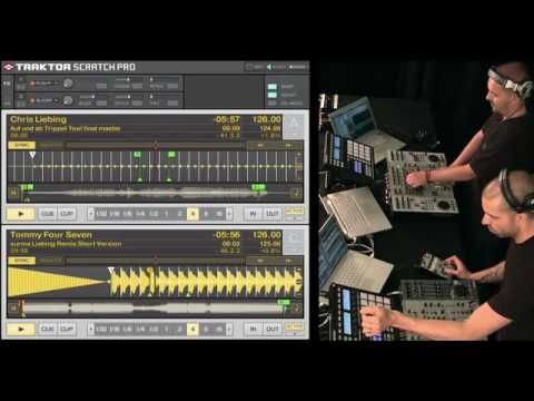 Speedy J - Chris Liebing -  NI Traktor Collab Session