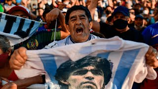 Diego Maradona death: Argentina mourns its 'god'