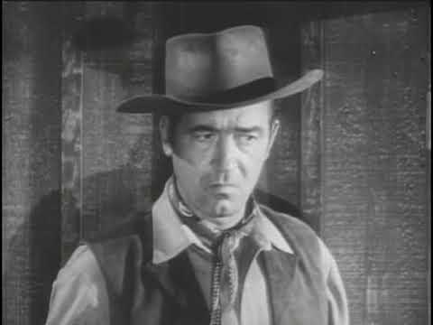 "RESTLESS GUN  ""Quiet City"" JOHN PAYNE and John Dehner classic TV western"