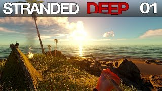 🌴 Stranded Deep #01 | Abgestürzt im Inselparadies | Gameplay German Deutsch thumbnail