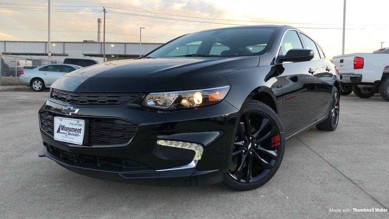 2018 Chevrolet Malibu Redline Edition (1.5L Tubro ...