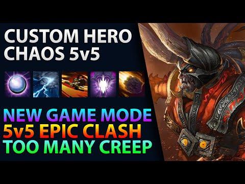 Dota 2 - Custom Hero Chaos 5v5 - New Game Mode