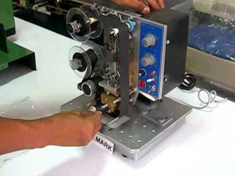 Hot Stamping Foil Coder Model SN-241.AVI