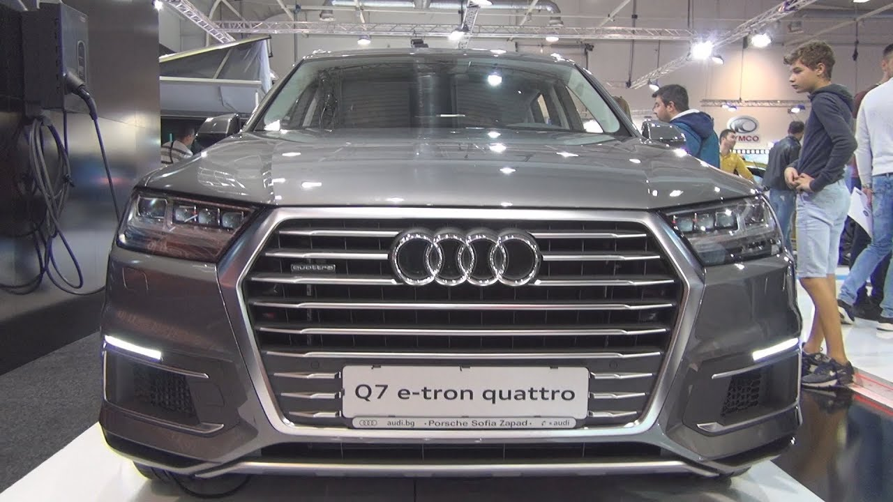 audi q7 e tron 3 0 tdi quattro tiptronic 258 hp 2018 exterior and interior youtube. Black Bedroom Furniture Sets. Home Design Ideas