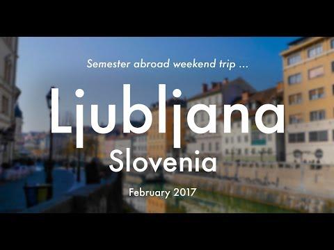 Ljubljana | Study Abroad Weekend Trip