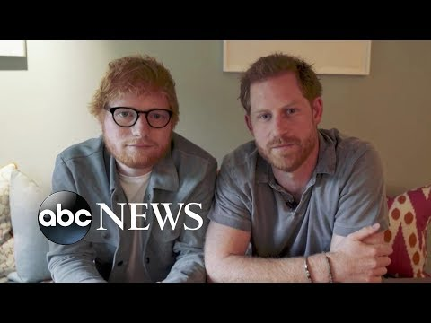 DJ Frosty - Prince Harry, Ed Sheeran team up for World Mental Health Day