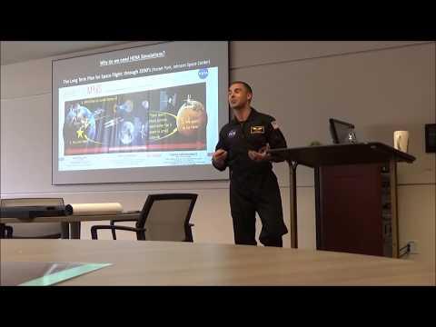 NASA HERA Teamwork presentation by Mission XIV crew member