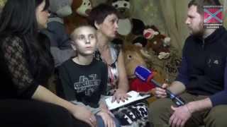 17.01.2015 Умирающие дети Донбасса