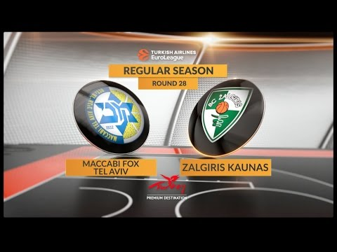 Highlights: Maccabi FOX Tel Aviv-Zalgiris Kaunas