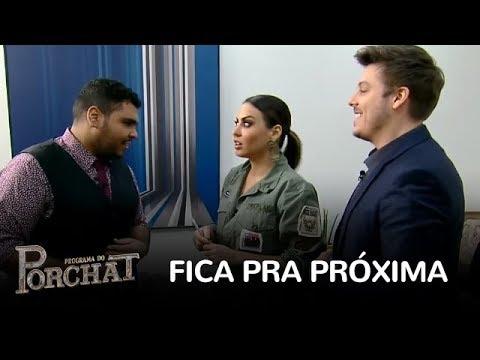 Porchat E Paulo Vieira Propõem Nova Brincadeira, Mas Não Conquistam Alinne Rosa