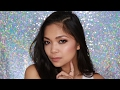 Bronzey Glittery Eyes Tutorial | Tina Czarina