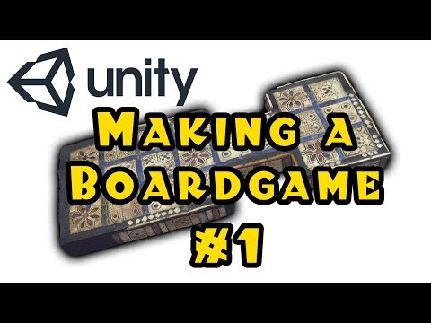 Unity 3d: Making A Board Game! - Episode 1
