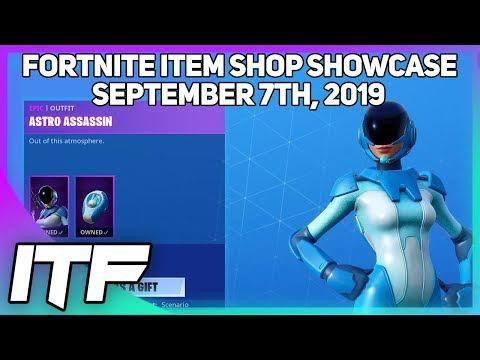Fortnite Item Shop *NEW* ASTRO ASSASSIN SKIN! [September 7th, 2019] (Fortnite Battle Royale)
